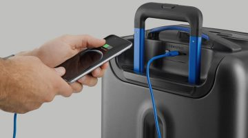 Bluesmart Carry-On Suitcase –  Clever Luggage for Smarter Travel