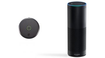 You can now Lock the Doors using your Voice – Alexa Supports August Smart Lock