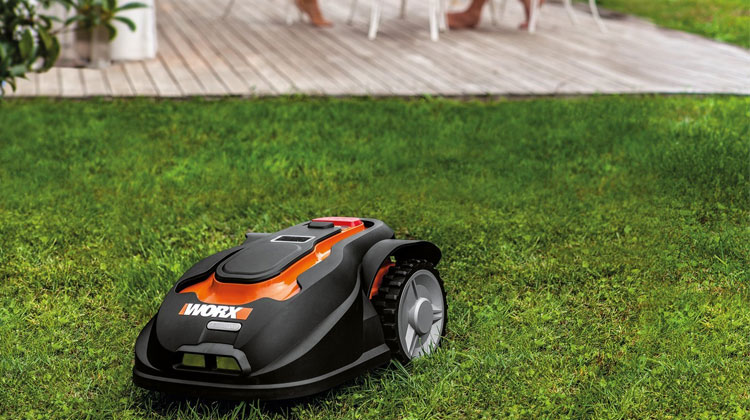 home automation robotic lawnmower