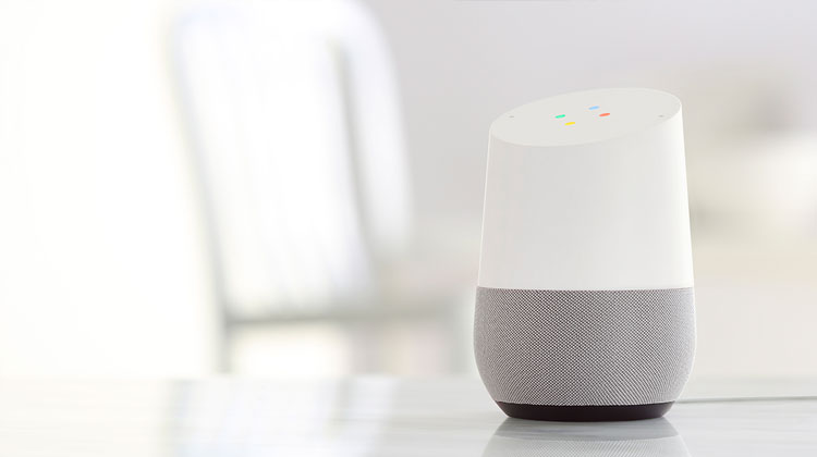 home automation voice control google home
