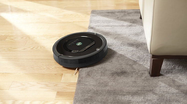 Best Robot Vacuum Cleaners Roomba 880 living room