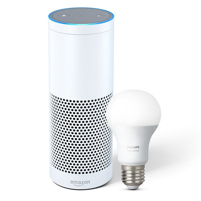 echo plus and hue