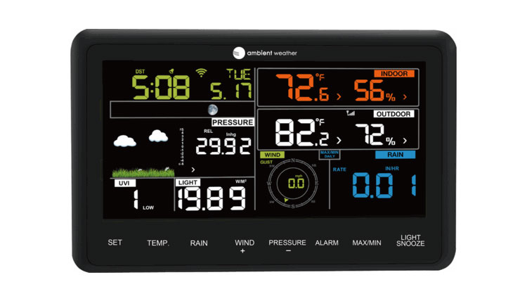 The Best Home Weather Station Devices Ambient Weather WS-2902 Professional Weather Station