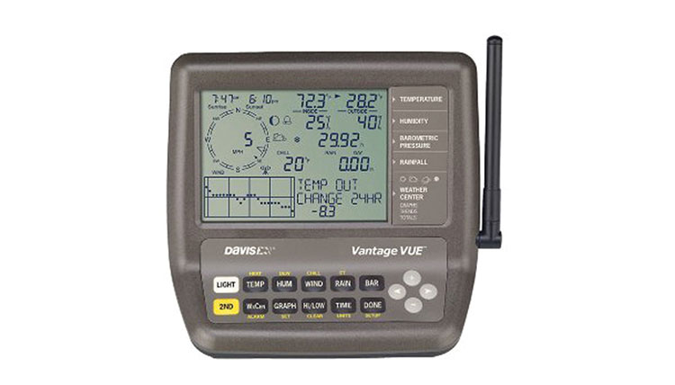 The Best Home Weather Station Devices Davis Instruments Vantage Vue Weather Station
