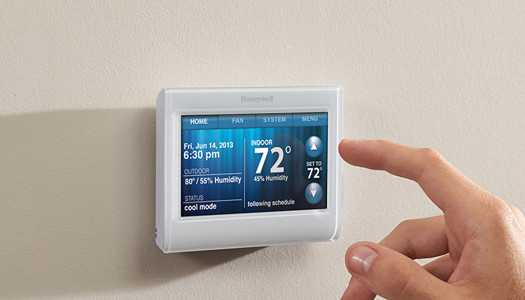 Best Smart Thermostats Honeywell Wi-Fi 9000 Touchscreen Smart Thermostat