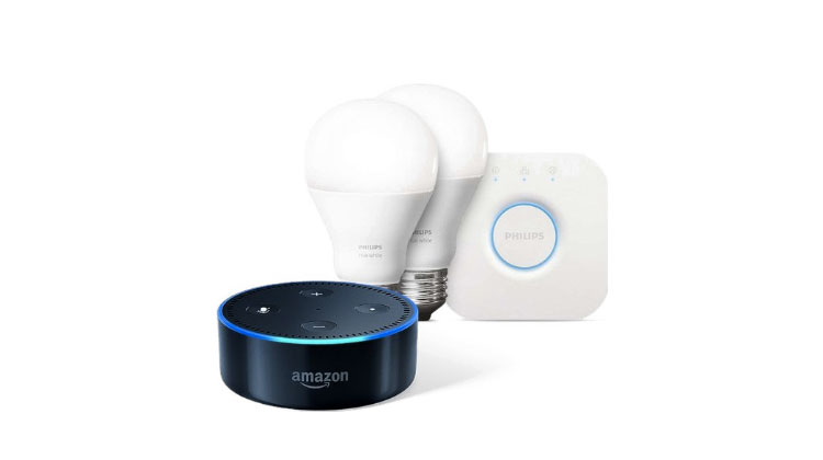 The Ultimate Guide to Amazon Alexa Smart Home Devices Echo Dot and Philips Hue Smart Light Bulbs