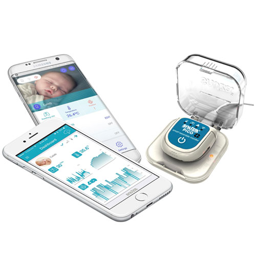 The Best Smart Nursery Products and Smart Baby Monitors Snuza Go! and Snuza Pico Baby Movement Monitors