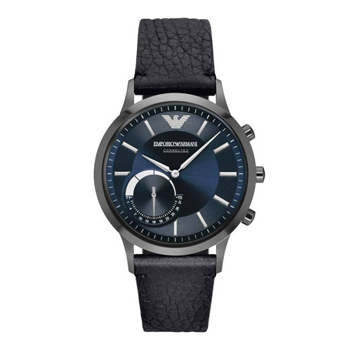 Best Smart Watches for Men - Best Men's Smartwatch Guide Emporio Armani Men's Hybrid Smartwatch